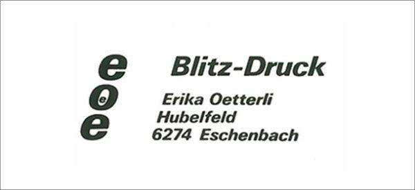 1975 – Erika Oetterli gründet Blitz-Druck