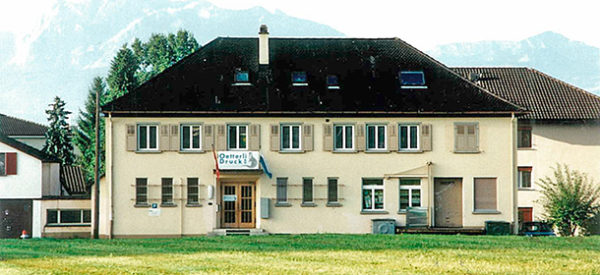 1989 – Oetterli Druck in Eschenbach LU