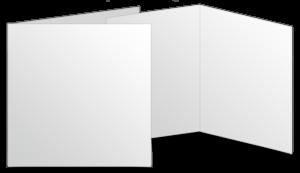 Quadratisch gefalzt (150x150 mm)