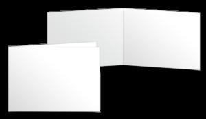 A5 quer gefalzt (210x148 mm)