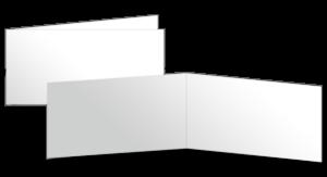 A65 quer gefalzt (210x100 mm)