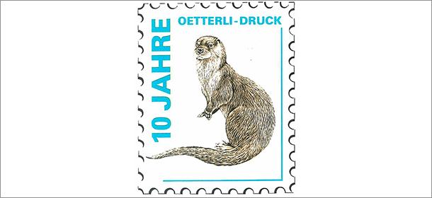 Briefmarke zum 10-Jahr-Jubiläum
