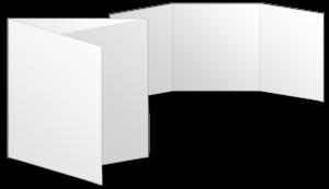 Quadratisch Wickelfalz (150x150 mm)